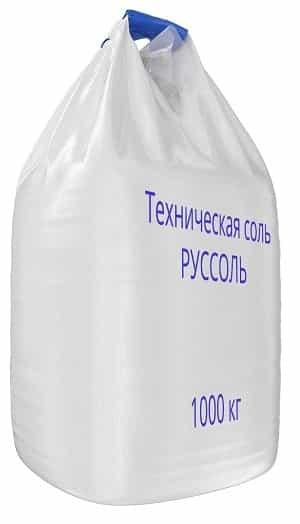 Продажа Технической соль Илецксоль в биг-бегах -мкр с доставкой и на самовывоз